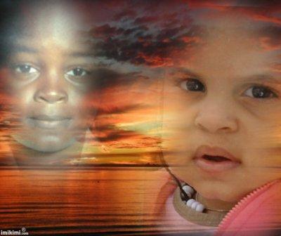 un petit montage de ma fille et son pere