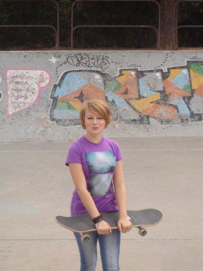 Ma petite skateuse préféré
