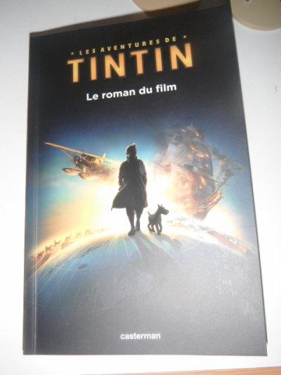 """voisi mon livre du new film de tintin"""" il est super"""""""