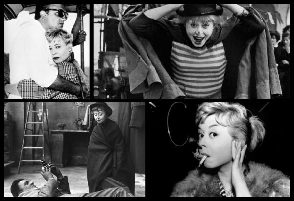 Giulietta Masina et Fellini