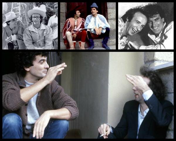 Massimo Troisi et Roberto Benigni, un duo comique