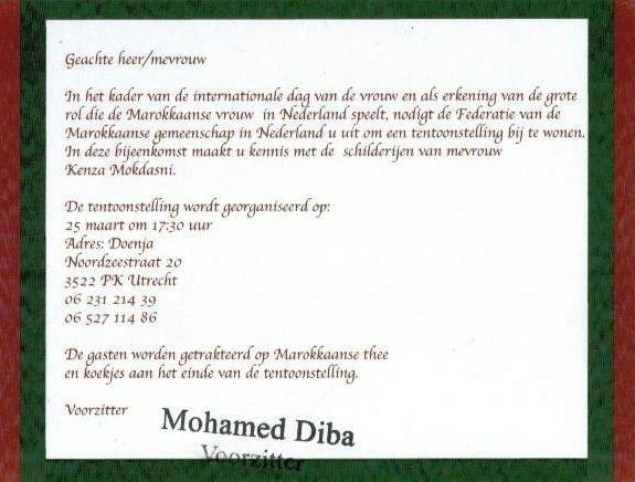 Federatie Marokkaanse gemeenshap Nederland 3