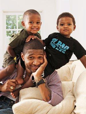 Usher & ses petits Bgosse!