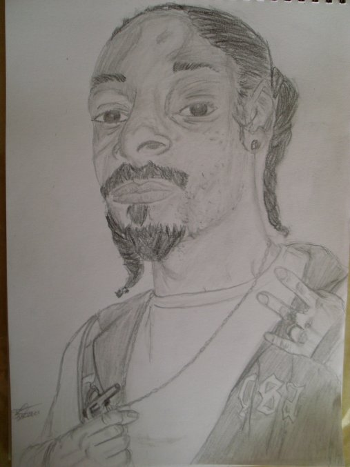 portrait snoop dogg