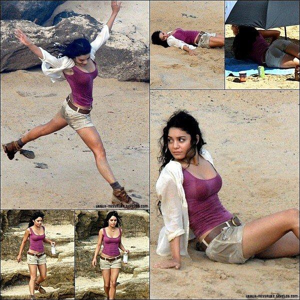 .  12 Novembre : . Encore de nouvelles photos de Vanessa au tournage de The Mysterious Island. .