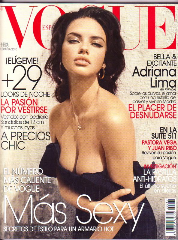 Adriana Lima - Vogue Spain, june 2010
