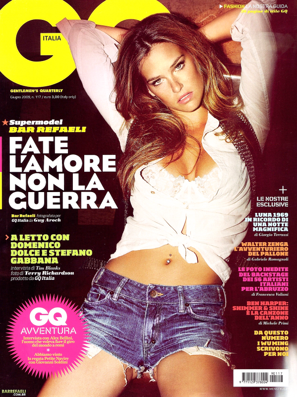 Bar Refaeli - GQ Magazine Italia, june 2009
