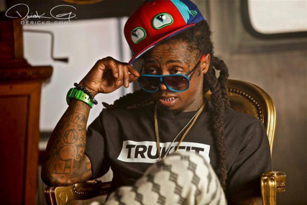 Lil Wayne (L).