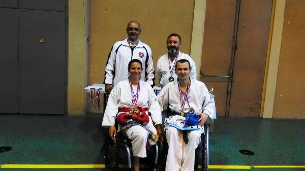 Compétition Para-Karaté dans le Gard