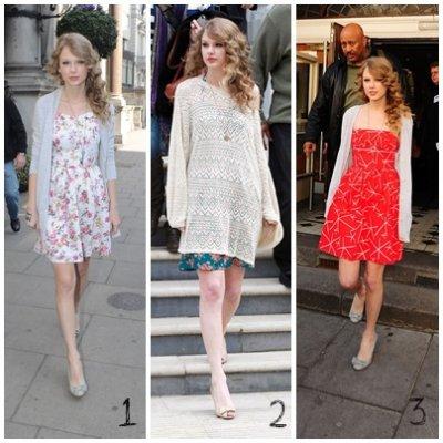 Zoom sur les tenues de Taylor (Swift) le 22 mars.