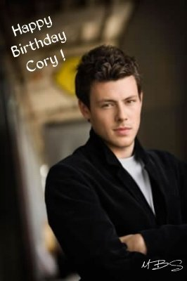 Cory Monteith is 29, 11th May. Happy Birthday !!