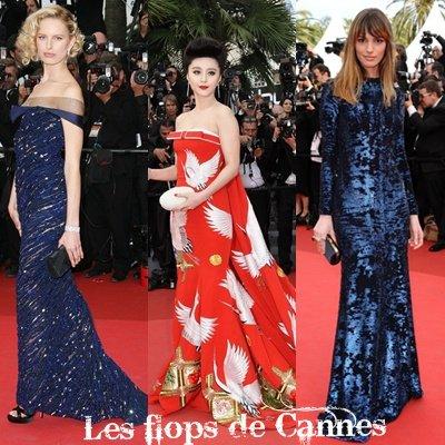 Les tops et les flops de la montée des marches à Cannes.
