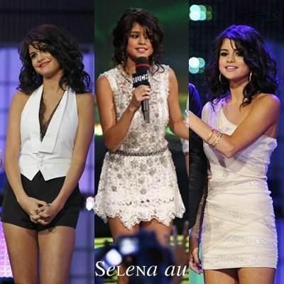Zoom sur les tenues de Selena Gomez au Much Music Video Awards