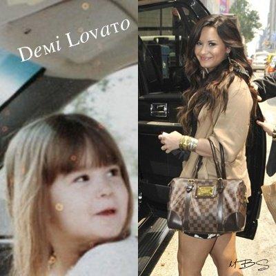 Avant/Après : Demi Lovato.