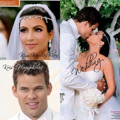 Zoom sur le mariage de Kim Kardashian et Kris Humphries.