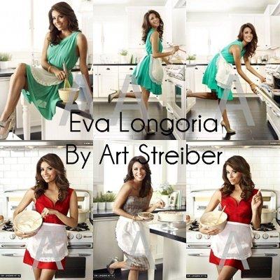Zoom sur le photoshoot d'Eva Longoria pour Art Streiber.