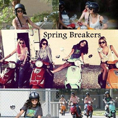 Zoom sur les premières images de Spring Breakers.