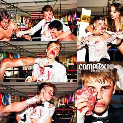 Zoom sur le photoshoot de Justin Bieber pour Complex.