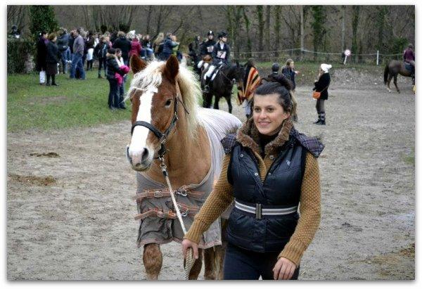 """Concours complet, club3 le 25 novembre 2012 à Dijon, """"Étrier de Bourgogne"""". (21)"""