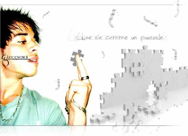 . . . Une vie comme un puzzle Montage réalisé le   : 10/06/10 . . .
