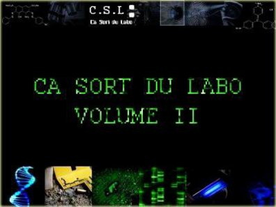 CA SORT DU LABO VOLUME 2