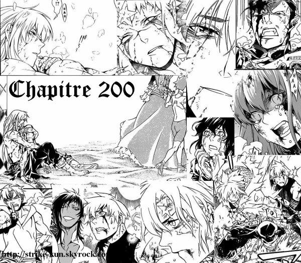Manga : Chapitre 200