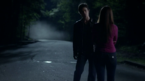 You want a love that consumes you, you want passion and adventure and even a little danger. TVD - Damon to Elena.