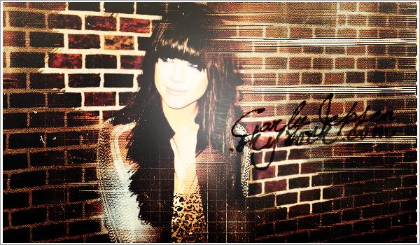 . ••••_www.Carly-Jepsen.skyrock.com_•••• __POUR TOUT SAVOIR__ .._CANDID/SHOOT/EVENT_ Découvre, toute l'actualité de la magnifique Carly Rae Jepsen → ainsi que touts ses projets musicaux..