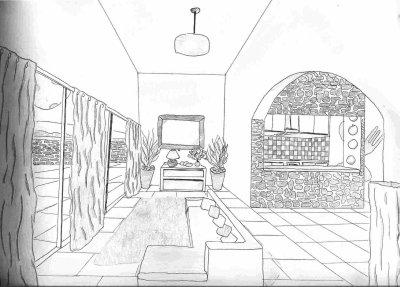 Dessin de salon blog de marina - Saloon dessin ...