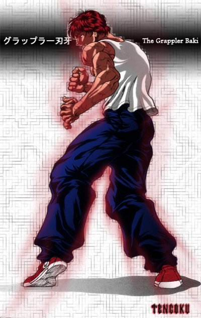 BaKi The Grapller :Manga Art Martiaux ;D