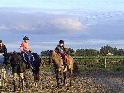 on a tous un cheval que l'on oubliras jamais :)