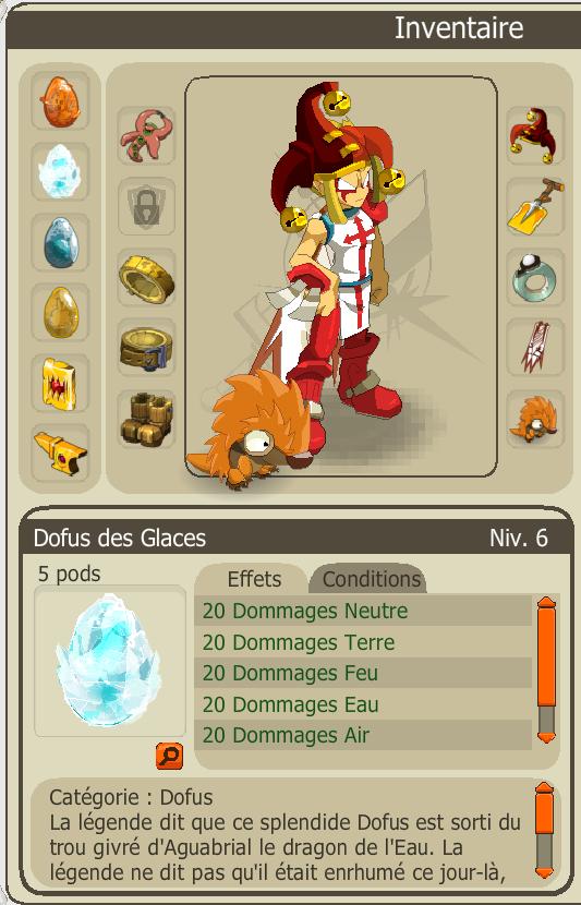 Le fameux Dofus des Glaces