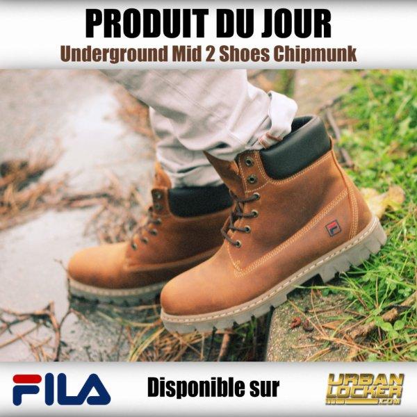 Une paire de boots Fila pour passer l'automne