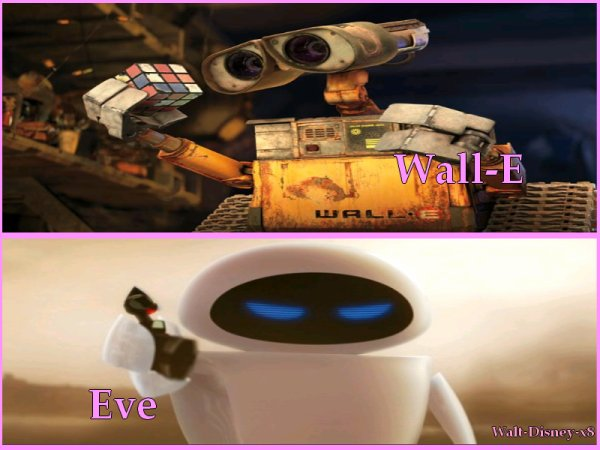 Eve VS Wall-E