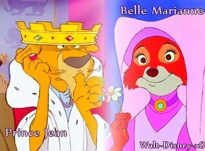 Belle Marianne VS Prince Jean