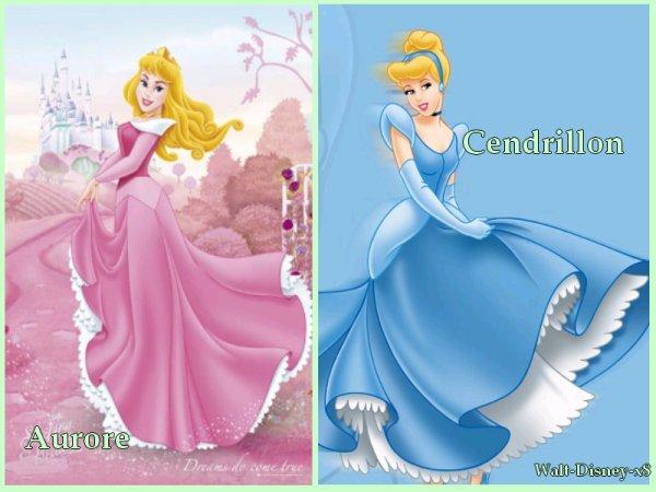 Cendrillon vs aurore walt disney - Image cendrillon walt disney ...