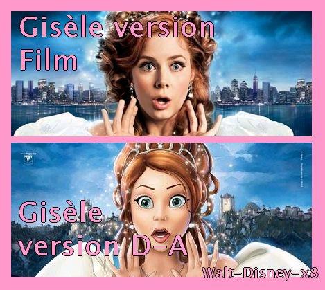 Gisèle DA VS Gisèle Film
