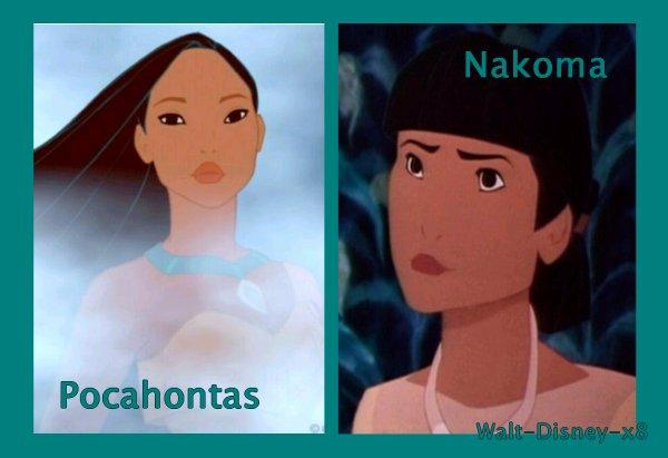 Pocahontas VS Nakoma