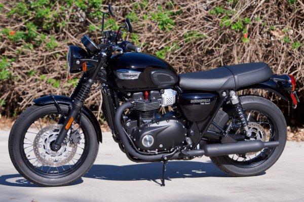 2017 Triumph Bonneville T100 Black Review