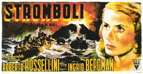 Stromboli - sommaire de ce blog & affiche italienne
