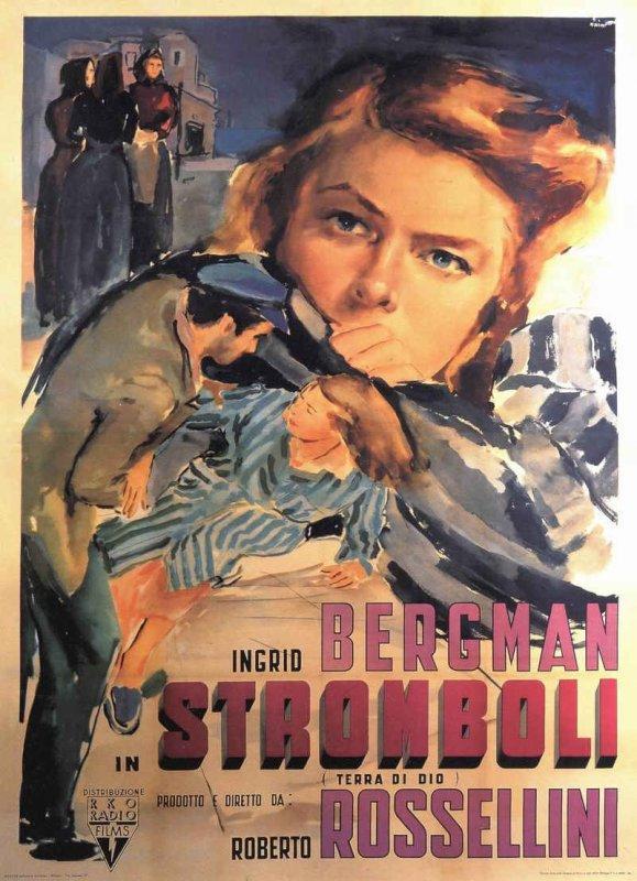 Stromboli - affiche italienne