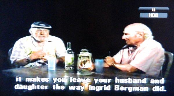 Le premier retour à Stromboli de Mario Vitale, 48 ans après le film - 14