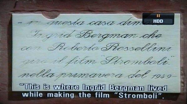 Le premier retour à Stromboli de Mario Vitale, 48 ans après le film - 18