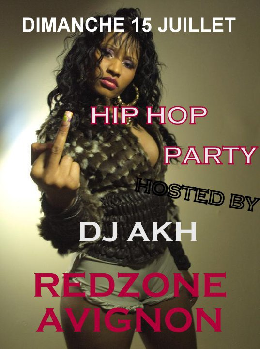 HIP HOP PARTY AU REDZONE