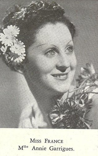 Annie Carrigues - Miss France 1938