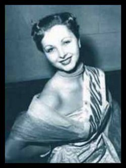 Josiane Pouy - Miss France 1952
