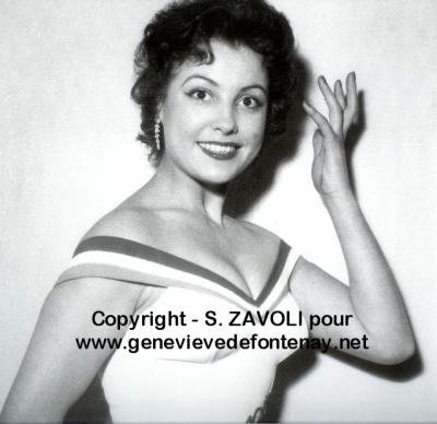 Véronique Zuber - Miss France 1955