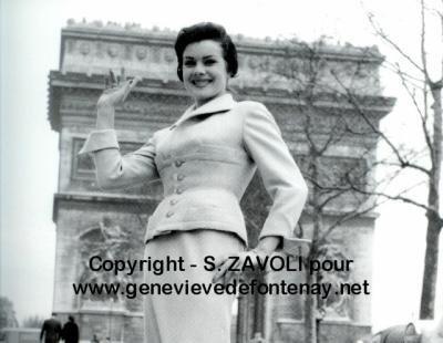 Sylvie-Rosine Numez - Miss France 1957