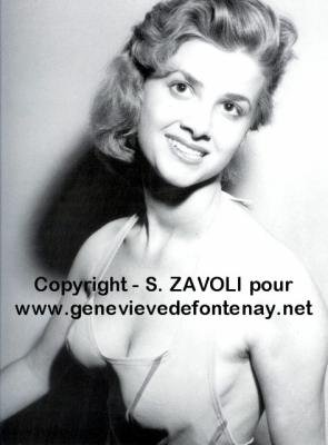 Monique Negler - Miss France 1958