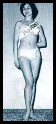 Monique Chiron - Miss France 1959